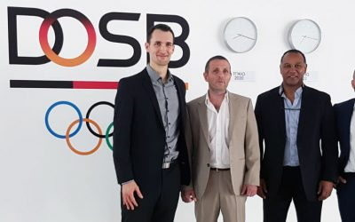 Erfolgreiches Auftakt-Gespräch mit dem DOSB