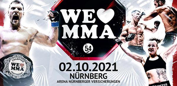 We Love MMA 54 Nürnberg