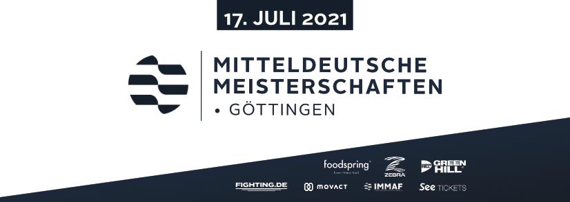 GEMMAF Mitteldeutsche Meisterschaften 2021 in Göttingen