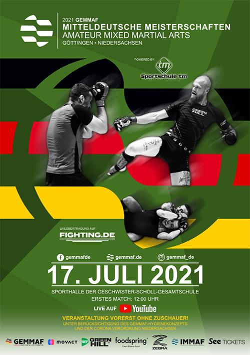 Mitteldeutsche Meisterschaften 2021 Göttingen GEMMAF